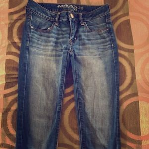 American Eagle super stretch jegging ankle jeans